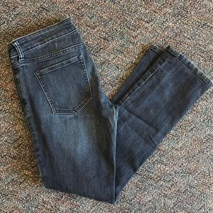 "Gap ""real straight fit"" jeans 4/27R"